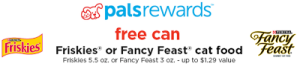 Petco: Get a Free Can of Friskies or Fancy Feast Cat Food w/ Coupon (Exp 12/15)