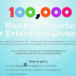 FREE Hair Extensions Giveaway (First 100,000!)