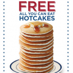 Bob Evans: Free Hotcakes For Military/Veterans (2/17 Only)