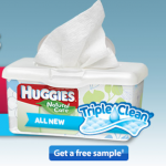 Free Sample of Huggies Triple Clean Baby Wipes