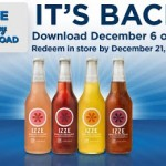 Kroger & Affiliates: Load Your eCoupon for a FREE IZZE Sparkling Juice! (12/6)