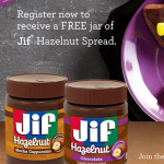 FREE Jar of Jif Hazelnut Spread – FIRST 10,000!