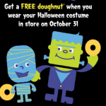 Krispy Kreme: Dress Up For Halloween, Get a FREE Doughnut (10/31)