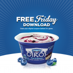Kroger & Affiliates: Free Dannon Oikos Greek Yogurt