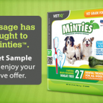Free Sample of Minties Dog Treats