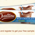 Free Sample of Ovaltine Rich Chocolate Drink Mix (Great freebie!)