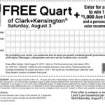FREE Quart of Clark+Kensington Paint at Ace Hardware (Saturday, August 3rd ONLY!)