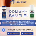 Free Sample of 2Toms Blistershield or 2Toms Sportshield