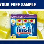 FREE Sample of Lemon Finish Dishwasher Detergent -HURRY!