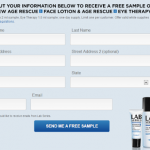 Free Sample of Lab Series Face Lotion & Age Rescue + Eye Therapy