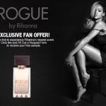 Free Sample of Rihanna's ROGUE Fragrance