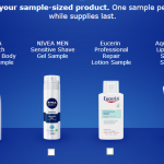 Free Sample of Nivea, Aquaphor, or Eucerin (First 404,500!)