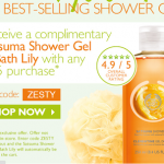 The Body Shop- Get a FREE Satsuma Shower Gel with any $25 Purchase Promo Code!