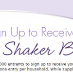 HURRY! Get a FREE Nature's Bounty Shaker Bottle