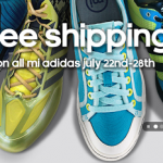 Free Shipping on Mi Adidas 7/22-7/28 (Customize/Design Your Own Shoes!)