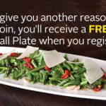 FREE Small Plate from California Pizza Kitchen (Sign-Up )