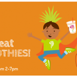 Jamba Juice: Free Smoothies for Kids on Halloween (10/31 between 2-7PM)