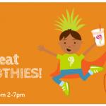 Jamba Juice: Free Smoothies for Kids on Halloween (10/31 between 2-7PM)