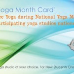 Get a Free Week of Yoga in September/October 2013 (National Yoga Month)