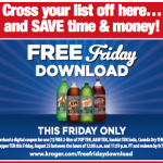 Kroger & Affiliate Shoppers- Get a FREE 2-Liter of a TEN Brand Soda When You Load the eCoupon!