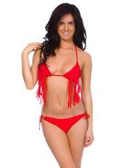 fringe-bikini-red