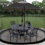 Garden Creations JB5678 Outdoor 9-Foot Umbrella Table Screen ONLY $19.95 + Free Shipping (Reg $49.99!)