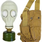 Gas Mask Soviet Russian Model -5 w/ Haversack ONLY $8.99 Shipped (Great Halloween Costume Accessory!)