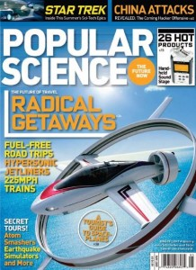 Free Subscription to Popular Science Magazine for ONE YEAR!