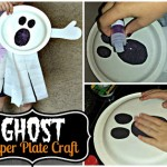 DIY: Ghost Paper Plate Kid's Craft (Fun Halloween Art Project!)