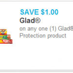 $1 off Any Glad Food Protection Product Printable Coupon + Walmart Deal