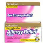 100Ct Good Sense Allergy Relief Pills Only $2.80 Shipped