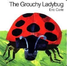 grouchy ladybug coloring sheet
