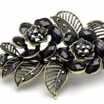 Vintage Crystal Hair Clip Only $3.94 Shipped!