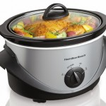 Hamilton Beach 4 qt. Stainless Steel Slow Cooker ONLY $9.99 (Reg $21.99!)