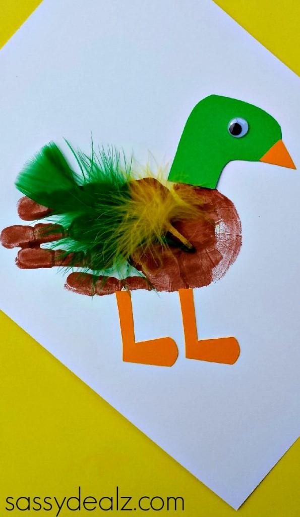 handprint-duck-craft