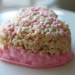 DIY Rice Krispie Heart Valentine Treat