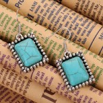 Beautiful Turquoise Silver Earrings ONLY $3.99 Shipped (Reg $16.99!)