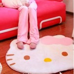 Hello Kitty Fuzzy Area Rug Only $7.88 + Free Shipping (Reg $22.99!)
