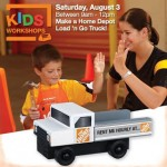 Home Depot Kid's Workshops- Make a FREE Load 'n Go Truck (Saturday, August 3rd)