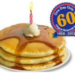 60 Cents For a Short Stack of Buttermilk Pancakes Sunday (7/7) at IHOP!