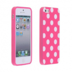Pink and White Polka Dot iPhone 5 Case ONLY $1.17 + Free Shipping!