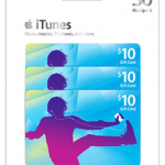 Walmart: Apple iTunes $30 Multipack – 3/$10 Gift Cards Just $25!