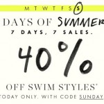 J. Crew- 40% Off Swim Styles for Women, Men, Girls, and Boys (TODAY ONLY W/ Promo Code!)