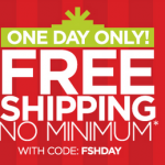 JCPenney: Get FREE Shipping on All Orders w/ Promo Code (Today Only)
