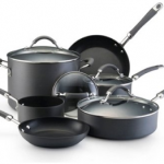 KitchenAid Hard Anodized Nonstick 10-Piece Cookware Set Only $89 Shipped (Reg $220)