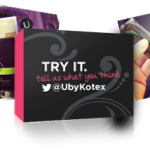 4 Different Kotex Samples (Tampons, Pads, Liners + Coupons!)