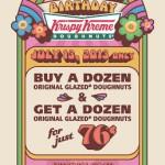 Krispy Kreme Doughnuts – Buy a Dozen & Get a Dozen for just 76 cents!
