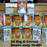 Kroger & Affiliates: Get 20 Big General Mills Cereal Boxes for ONLY $9.80 (Just $0.49 a BOX!!)