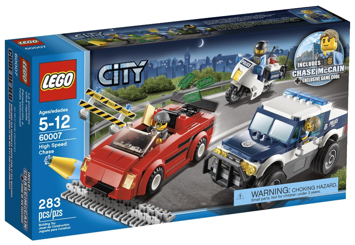 Lego City Toys : Lego city police high speed chase just reg
