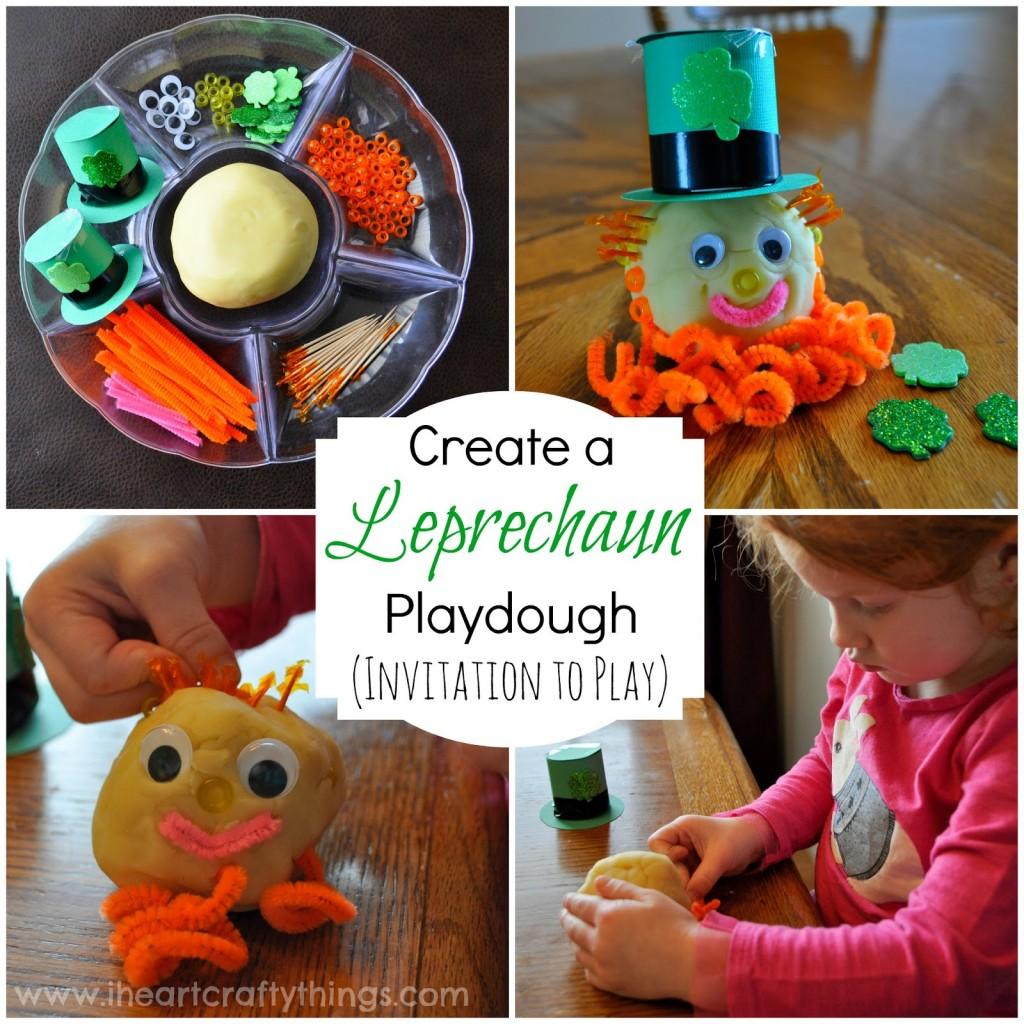 leprechaun-playdough-craft